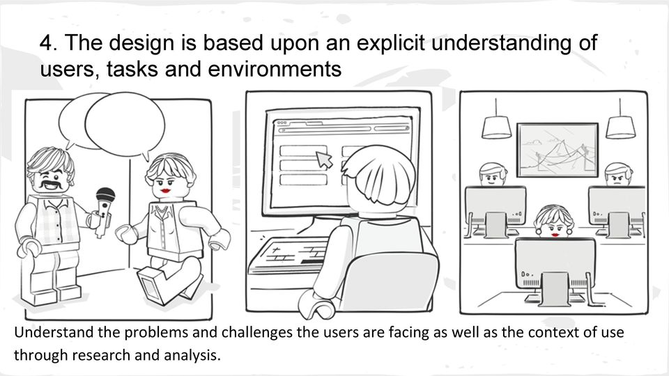 Understand the problems and challenges the users