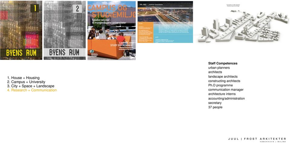Research + Communication Staff Competences urban planners architects