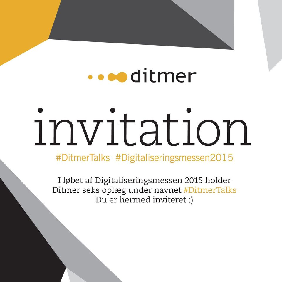 Digitaliseringsmessen 2015 holder