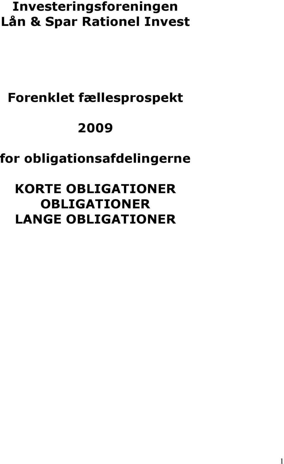 fællesprospekt 2009 for