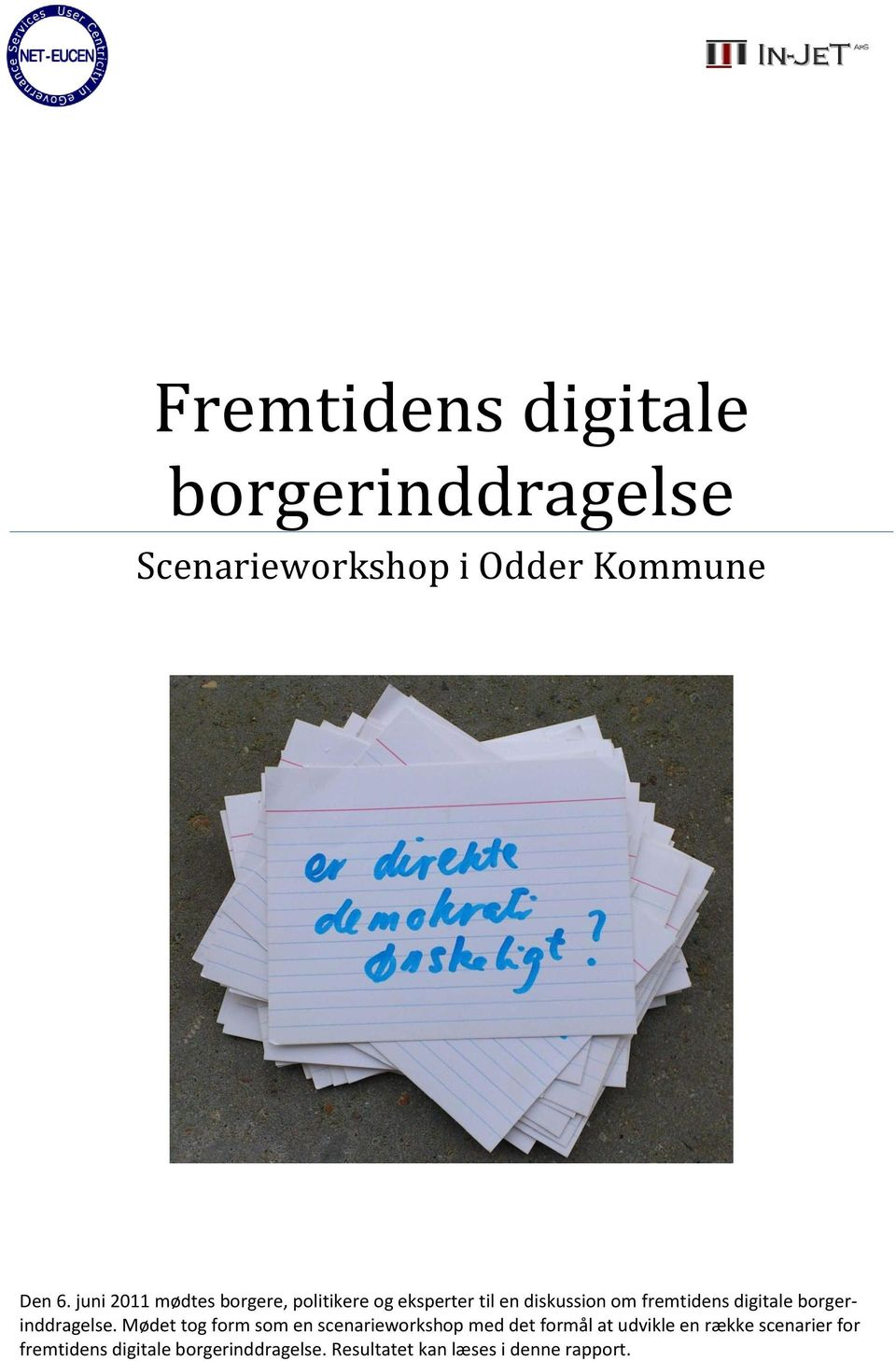 digitale borgerinddragelse.