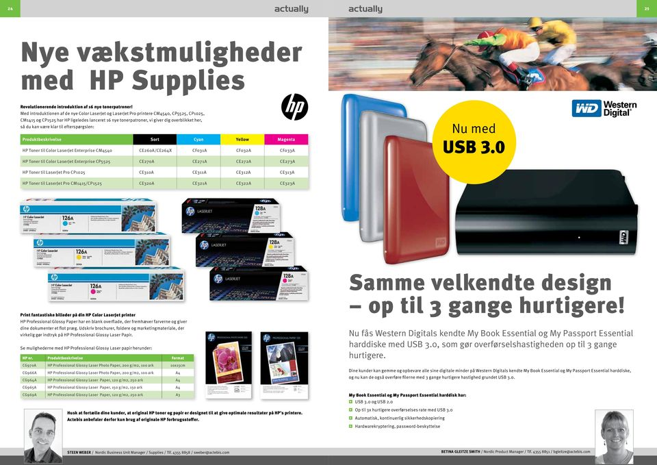 være klar til efterspørgslen: Produktbeskrivelse Sort Cyan Yellow Magenta HP Toner til Color LaserJet Enterprise CM4540 CE260A/CE264X CF031A CF032A CF033A HP Toner til Color LaserJet Enterprise