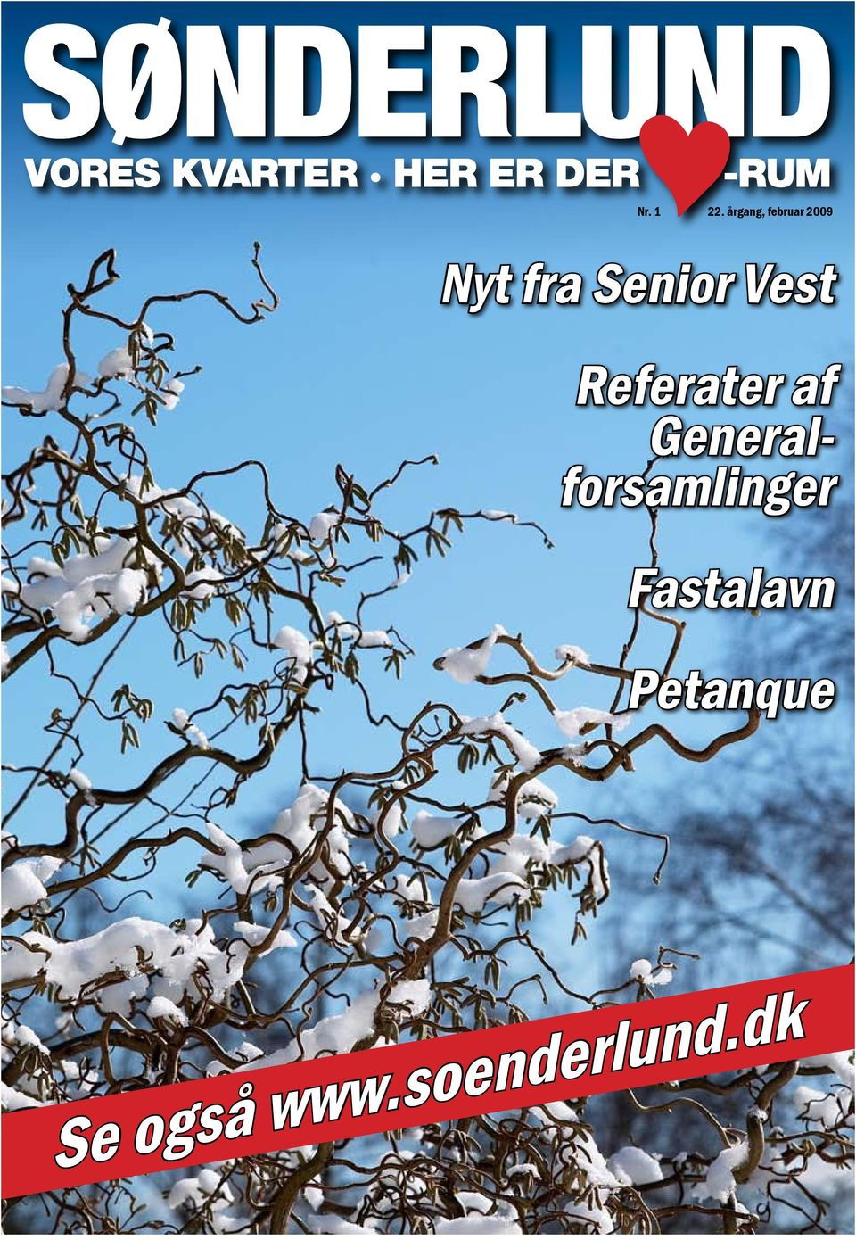 Senior Vest Referater af