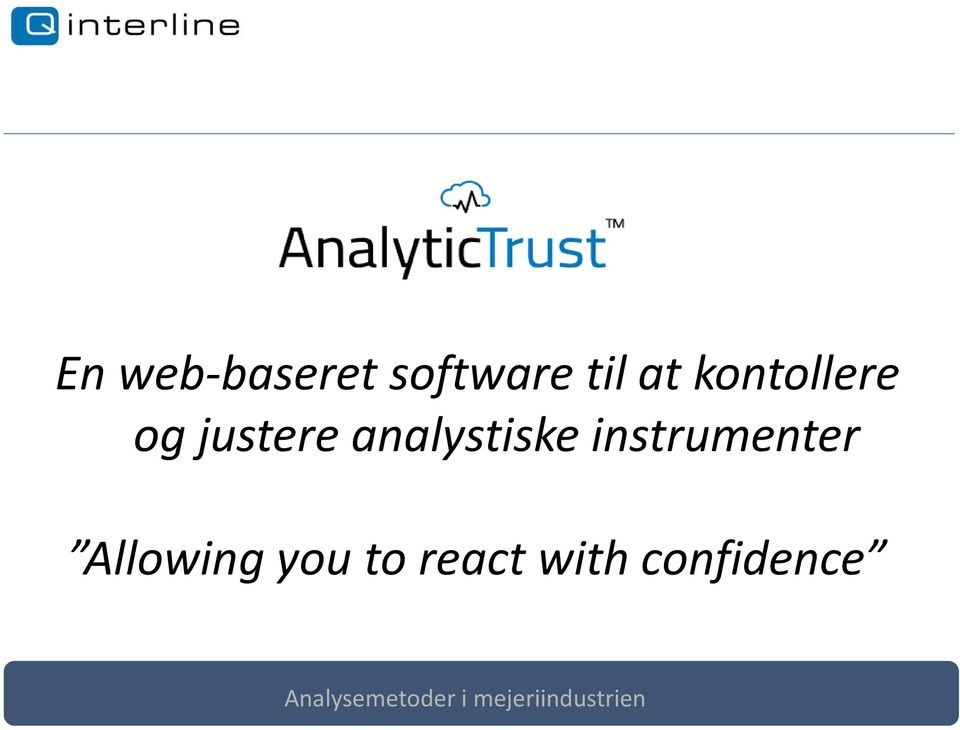 analystiske instrumenter