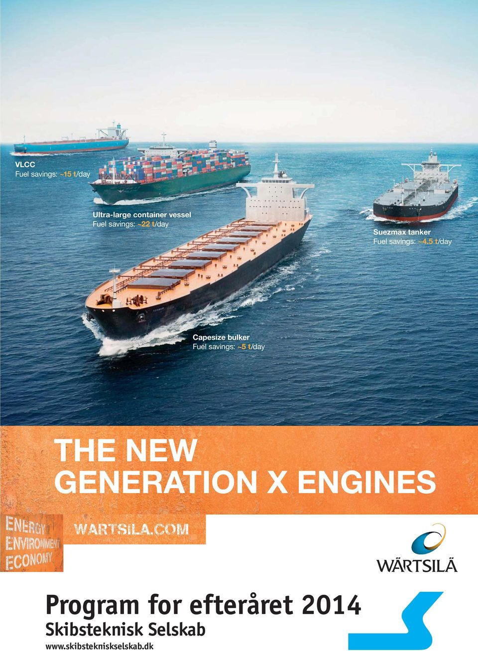 5 t/day Capesize bulker Fuel savings: ~5 t/day THE NEW GENERATION X