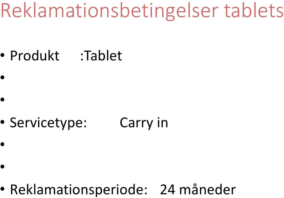 Servicetype: :Tablet
