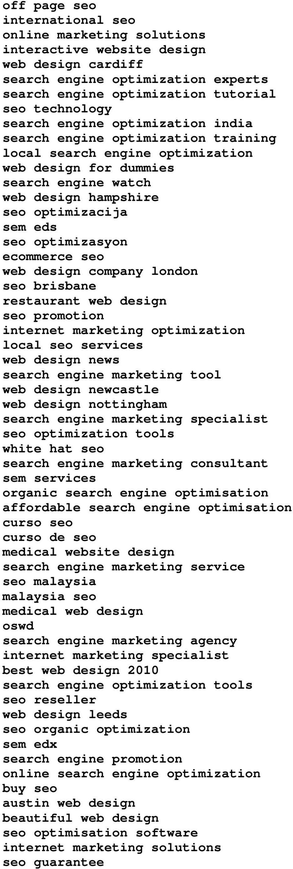 optimizasyon ecommerce seo web design company london seo brisbane restaurant web design seo promotion internet marketing optimization local seo services web design news search engine marketing tool