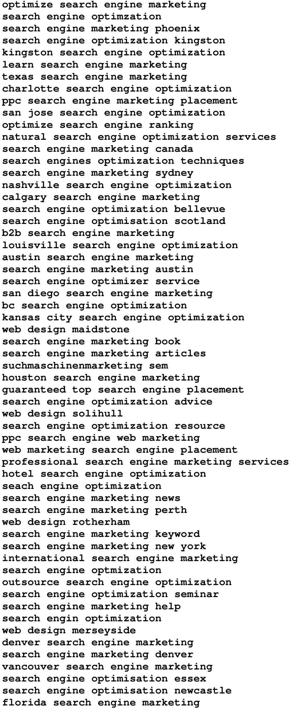 optimization services search engine marketing canada search engines optimization techniques search engine marketing sydney nashville search engine optimization calgary search engine marketing search