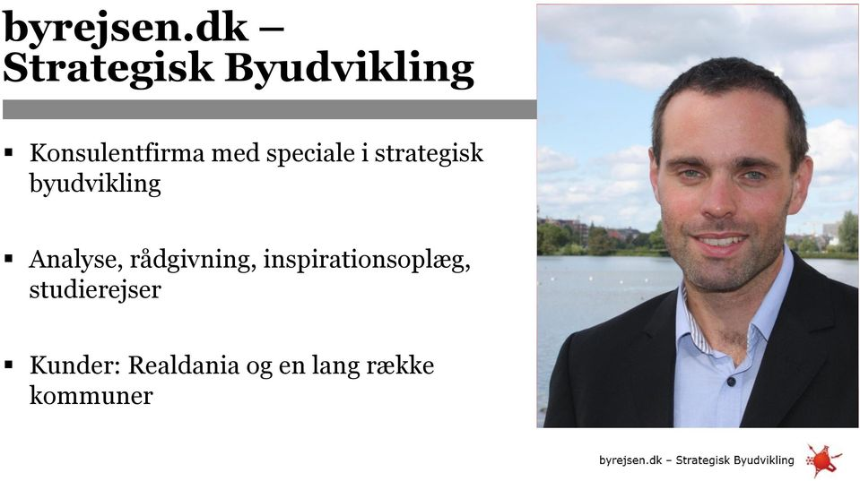 speciale i strategisk byudvikling Analyse,