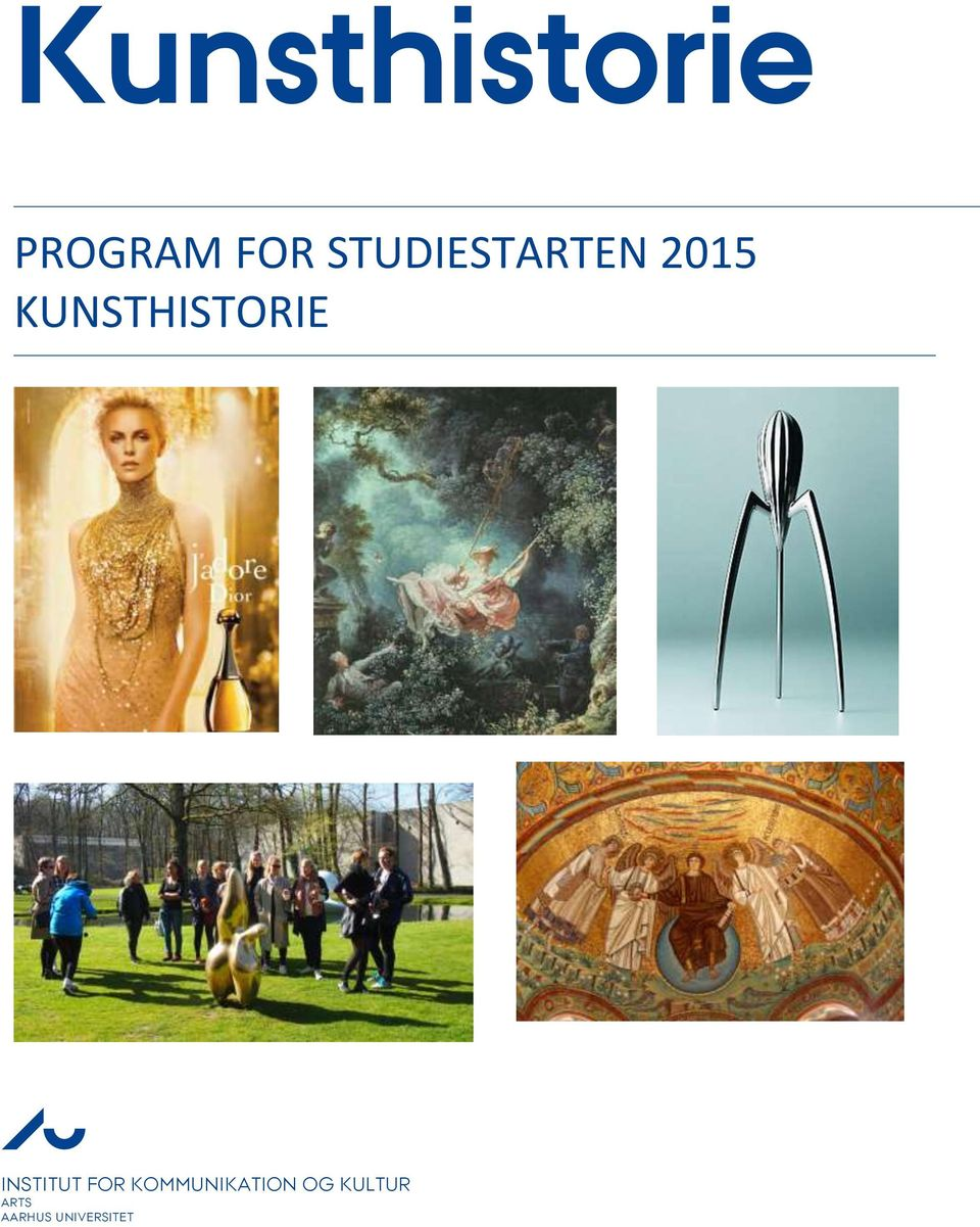 KUNSTHISTORIE INSTITUT FOR