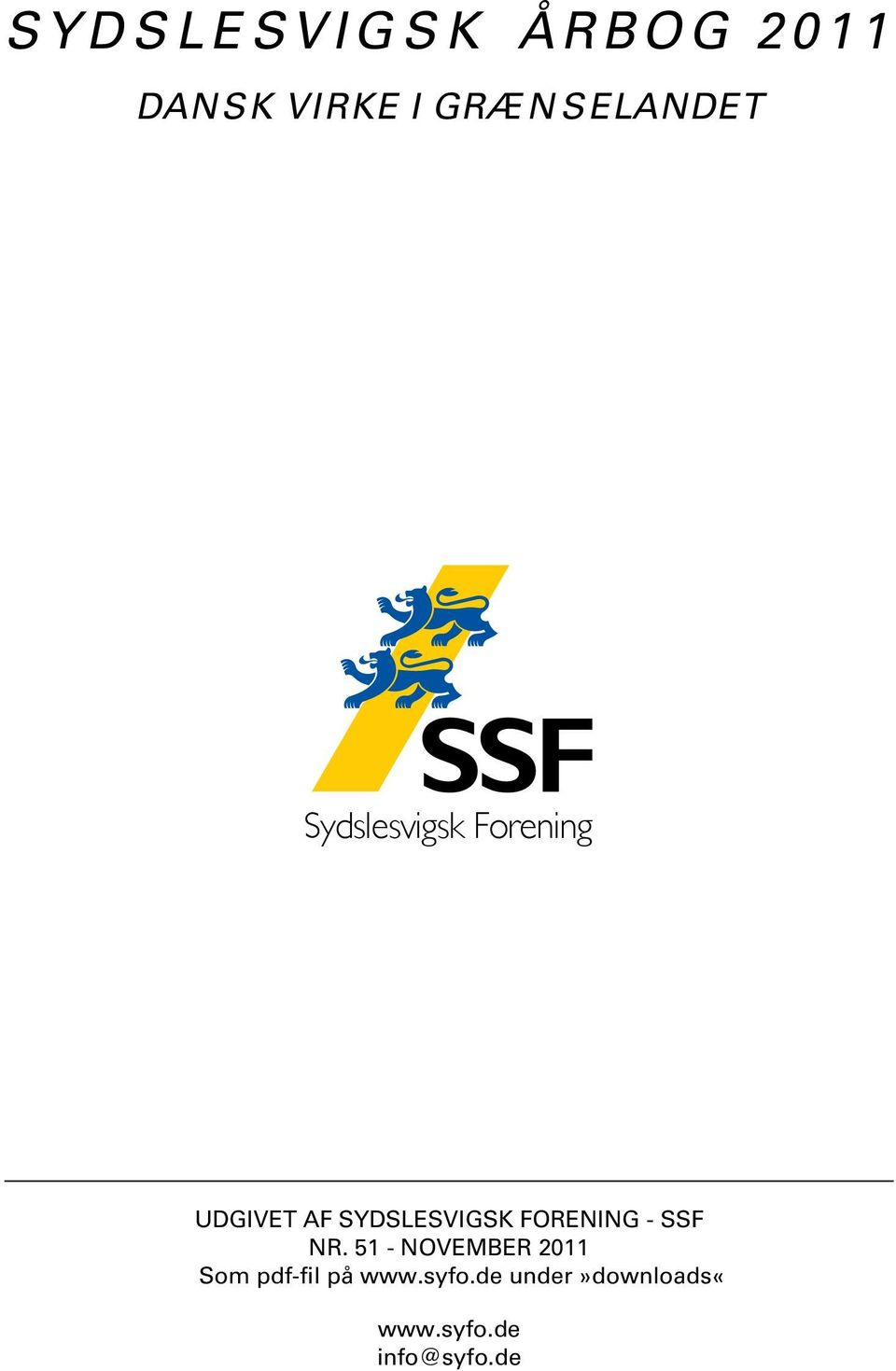 SLES VIGSK FOR ENING - SSF NR.