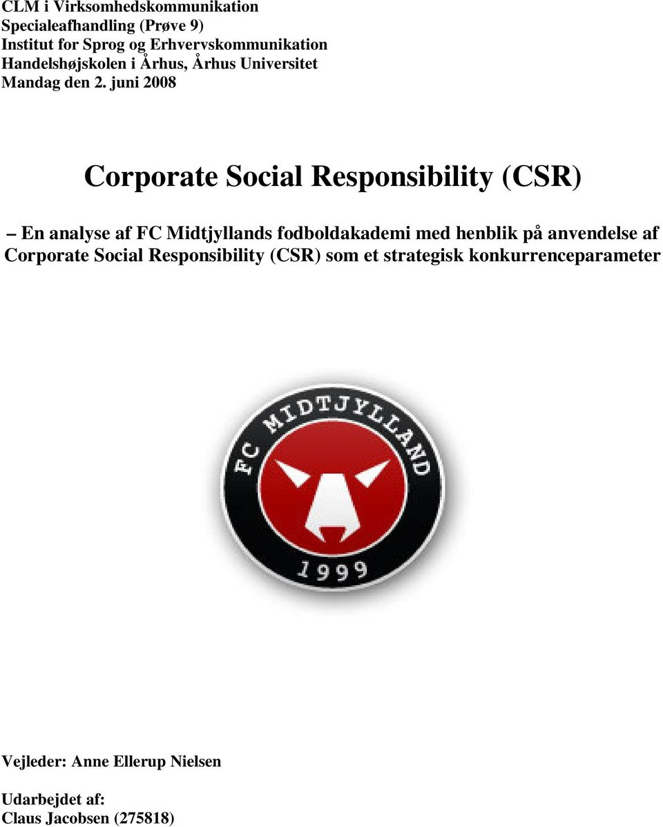 an examination of the two sides of corporate social responsibility csr In the last 10 years the corporate social responsibility (csr) movement stood for topics such as corporate governance, environmental management and community engagement only to name three.