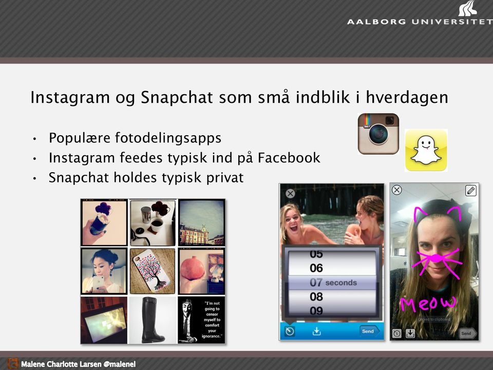 fotodelingsapps Instagram feedes