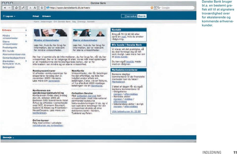 troværdighed over for eksisterende