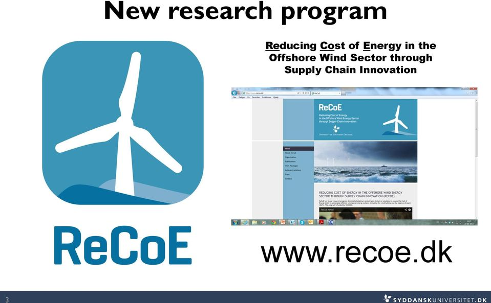 Offshore Wind Sector through