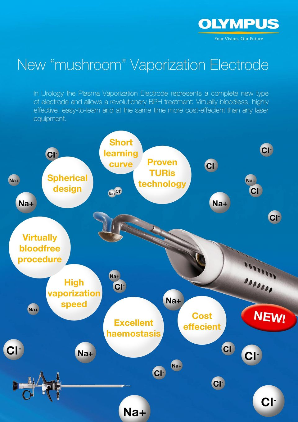 Na+ Na+ Short learning CI CI - - curve Proven CI - TURis Spherical Na+ technology design CI CI - - Na+ Na+ CI - Virtually bloodfree procedure Na+
