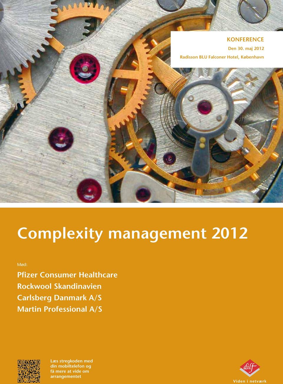 management 2012 Mød: Pfizer Consumer Healthcare Rockwool