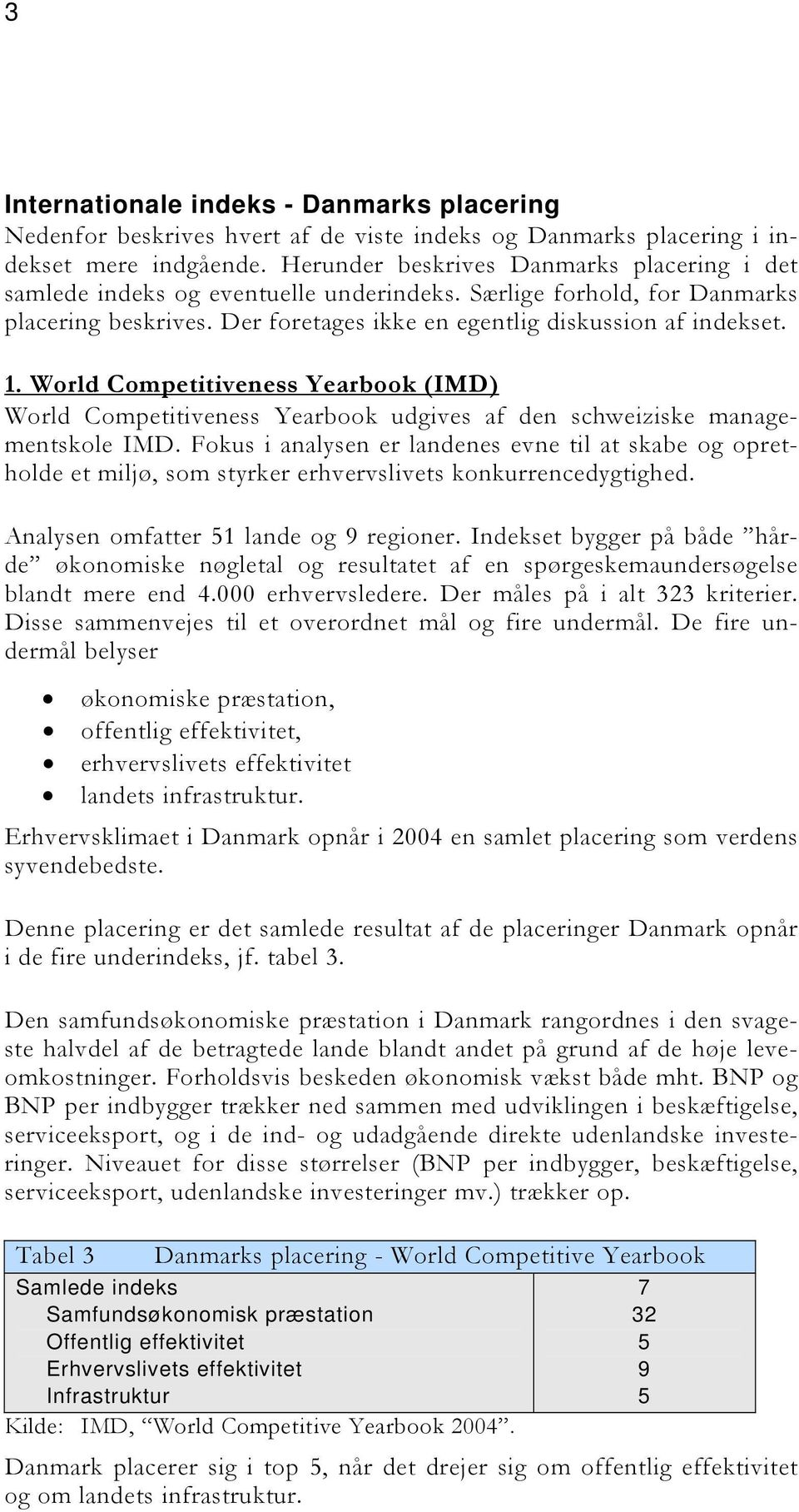 . World Competitiveness Yearbook (IMD) World Competitiveness Yearbook udgives af den schweiziske managementskole IMD.