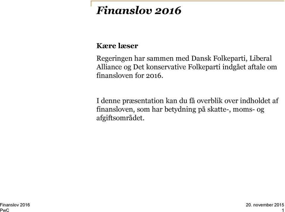 finansloven for 2016.