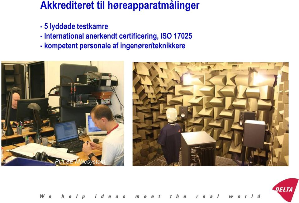 certificering, ISO 17025 - kompetent personale