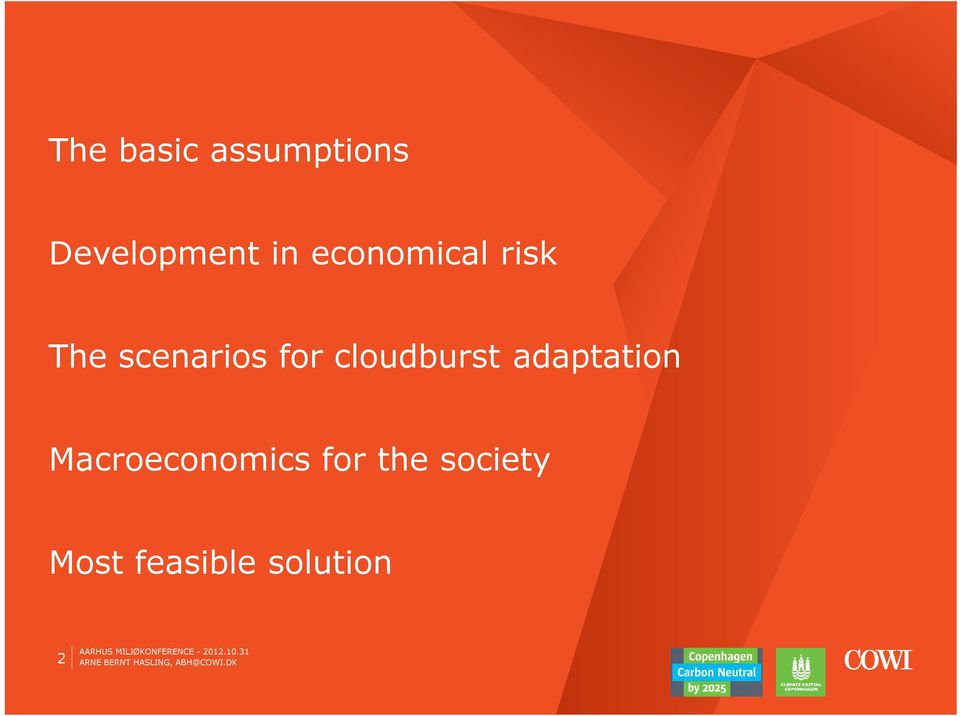 cloudburst adaptation Macroeconomics