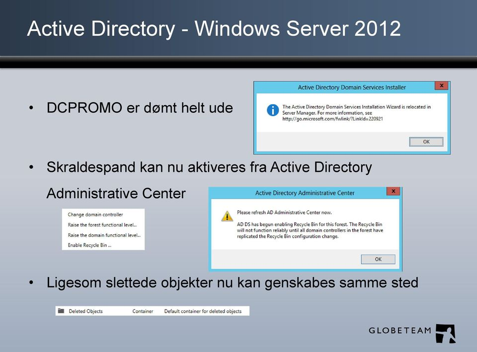 fra Active Directory Administrative Center