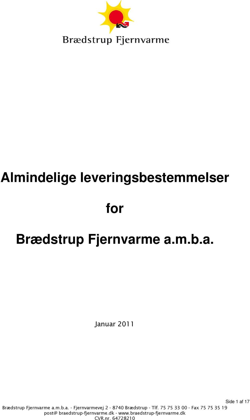 for Brædstrup