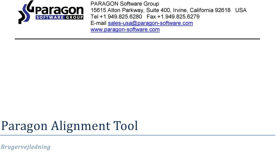 949.825.6279 E-mail sales-usa@paragon-software.com www.