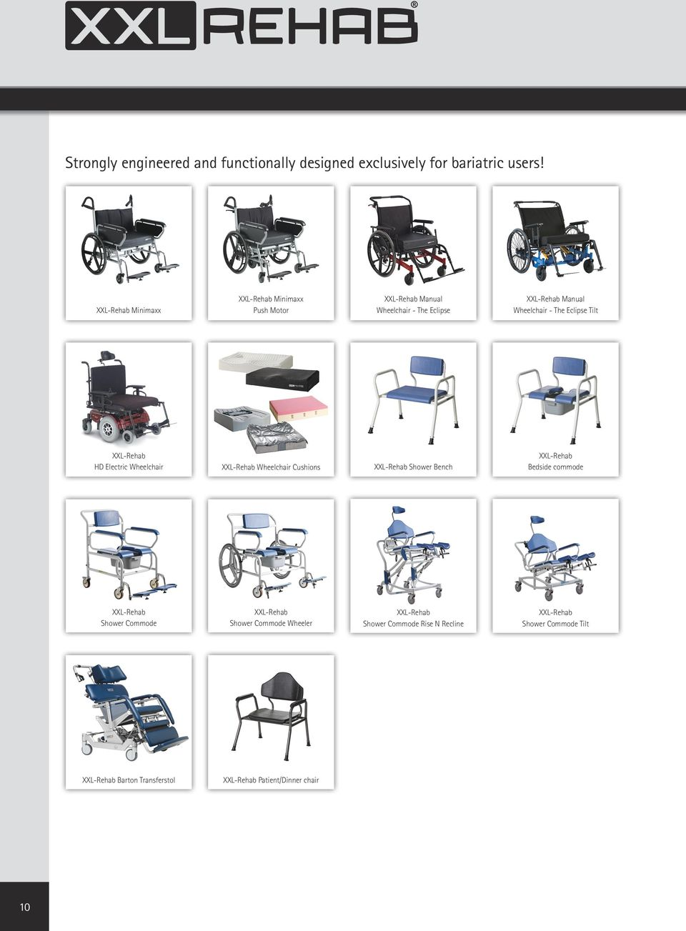 Tilt HD Electric Wheelchair Wheelchair Cushions Shower Bench Bedside commode Shower Commode