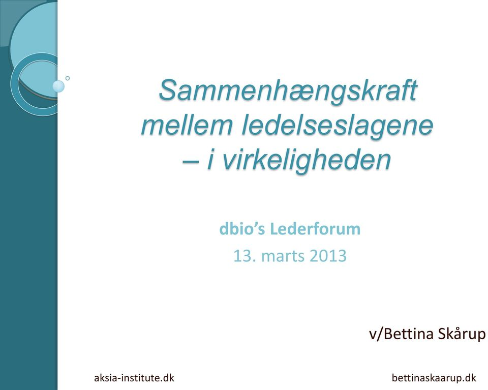 s Lederforum 13.