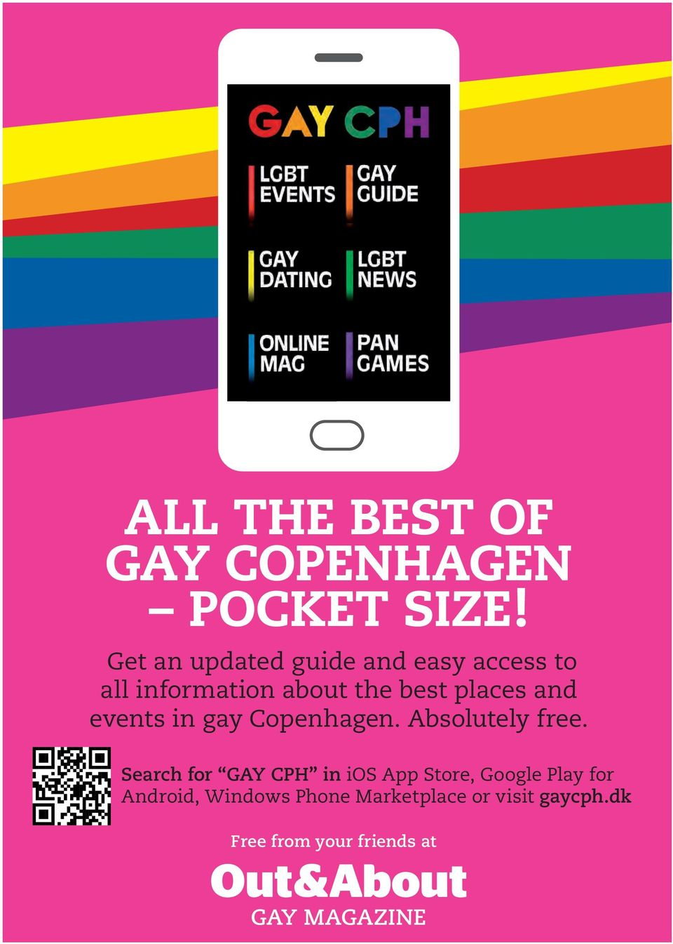 and events in gay Copenhagen. Absolutely free.