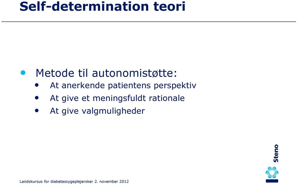 patientens perspektiv At give et