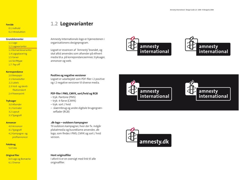 2 Labels 2.4 Powerpoint Tryksager 3.0 Afsender 3.1 Formater 3.2 Layout 3.