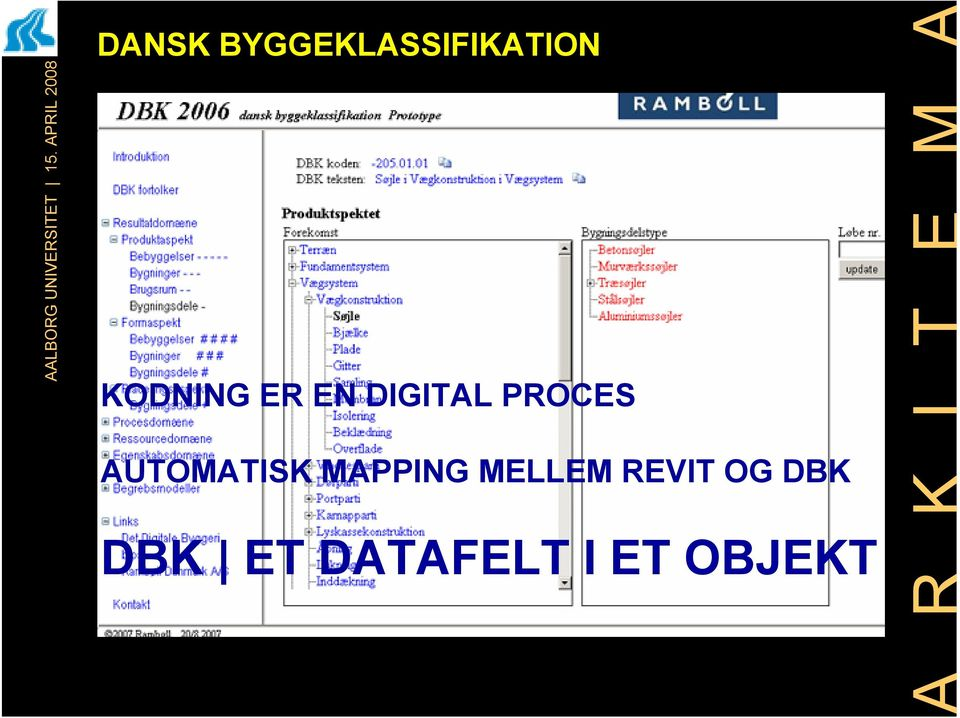 AUTOMATISK MAPPING MELLEM
