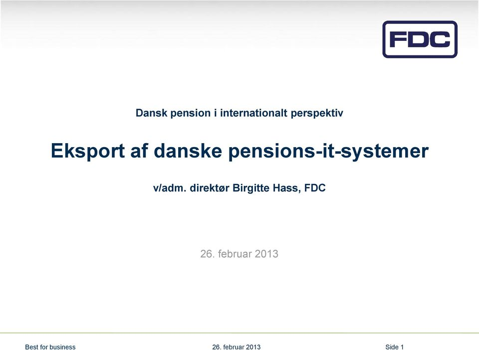pensions-it-systemer v/adm.