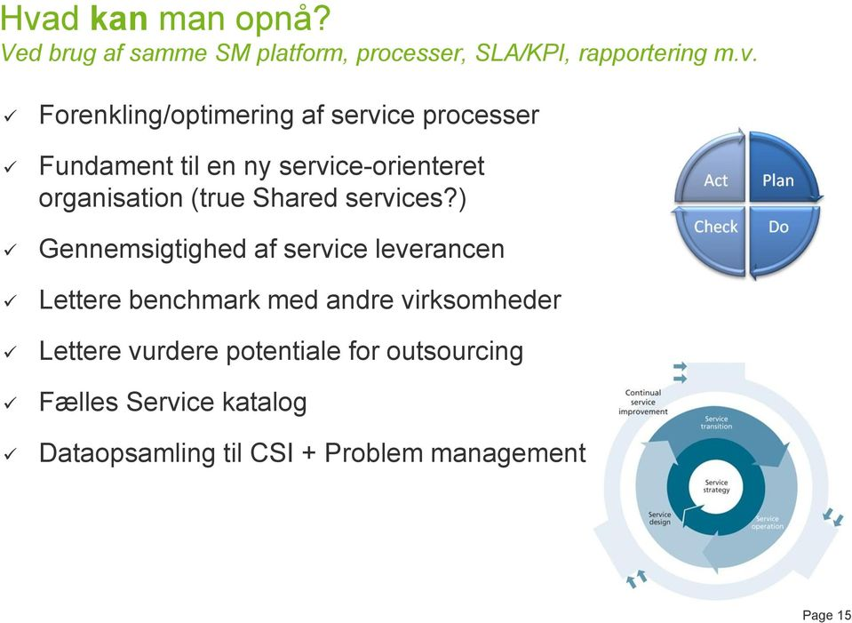 Shared services?