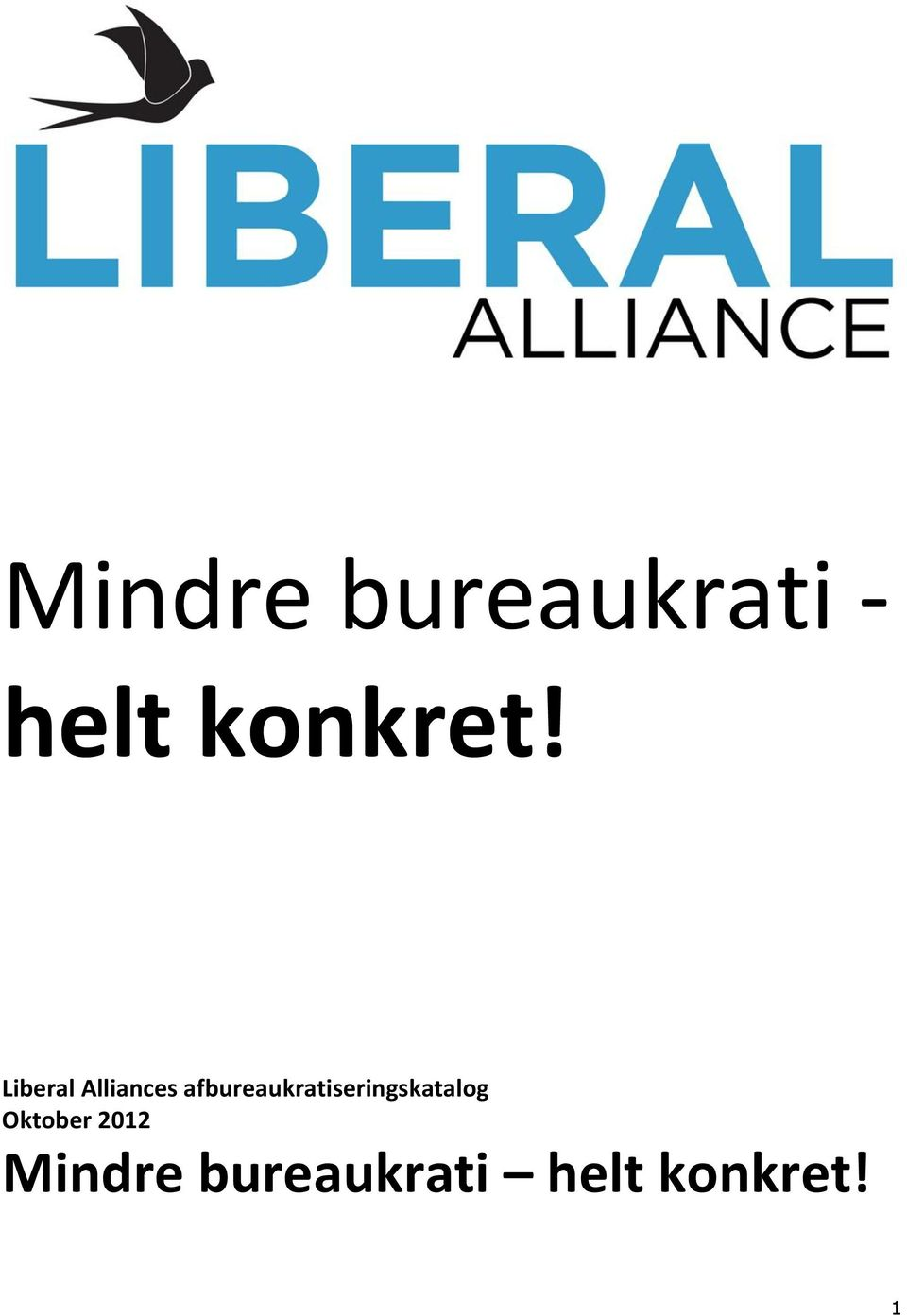 Liberal Alliances
