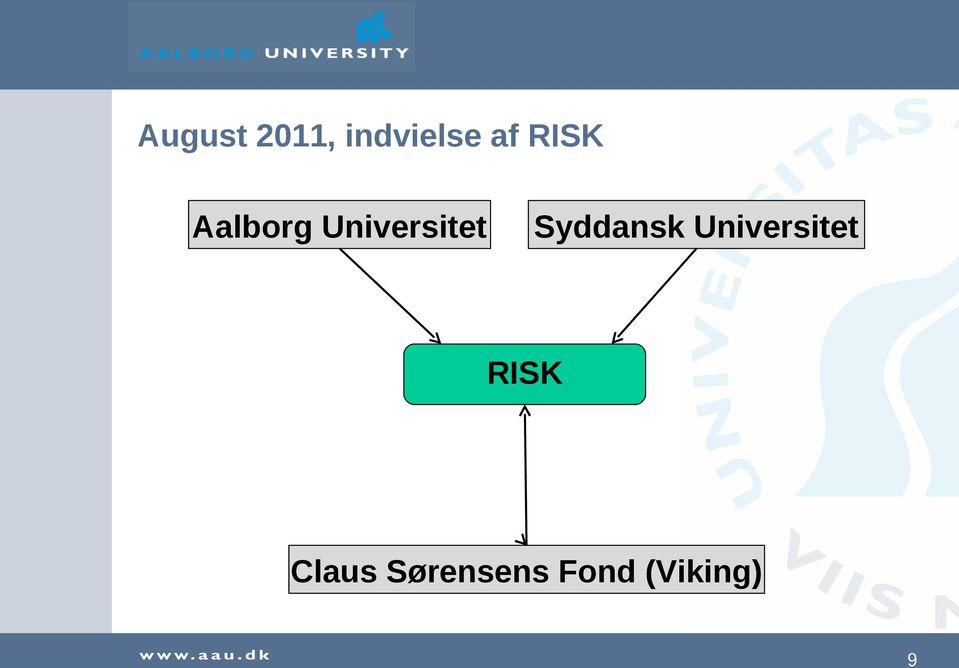 Syddansk Universitet RISK
