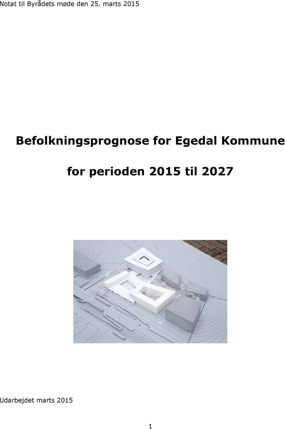 for Egedal Kommune for perioden