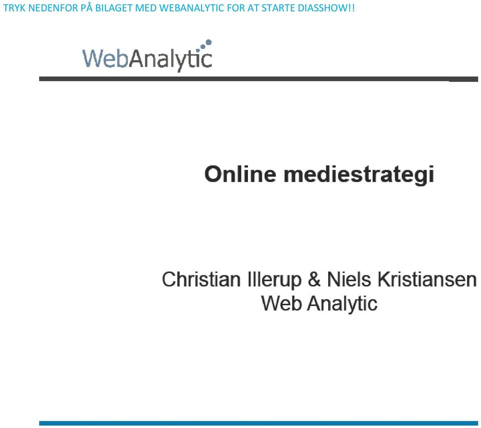 WEBANALYTIC FOR