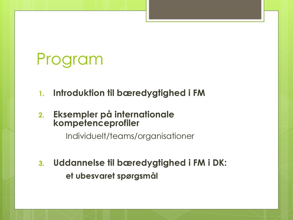 Individuelt/teams/organisationer 3.