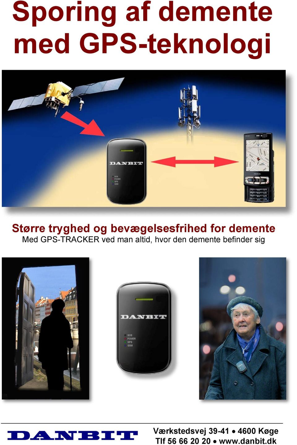 for demente Med GPS-TRACKER ved man