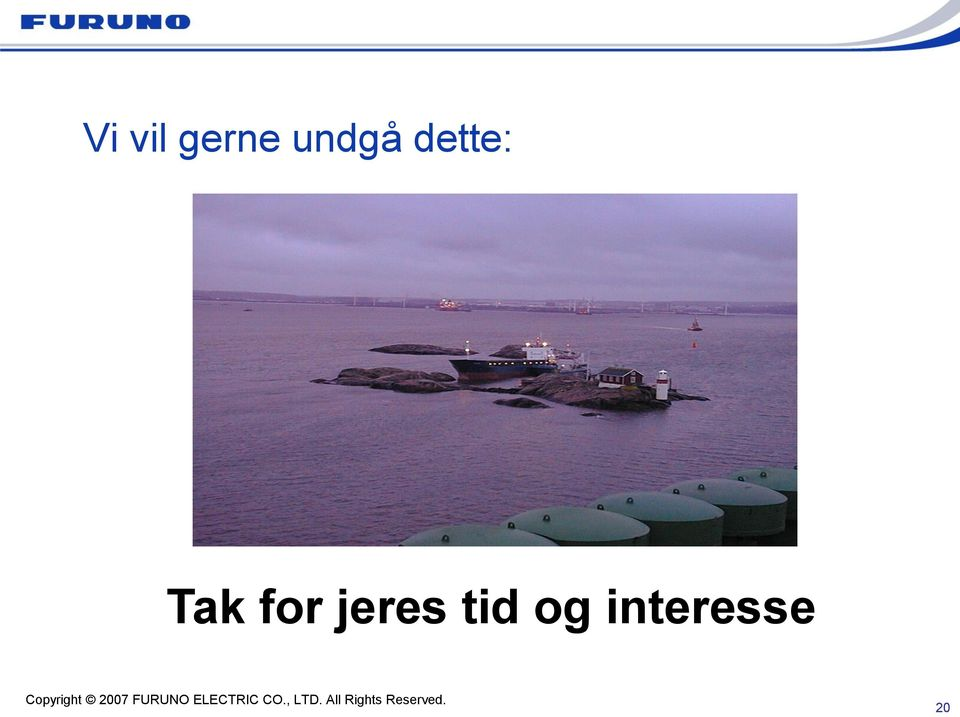 Tak for jeres