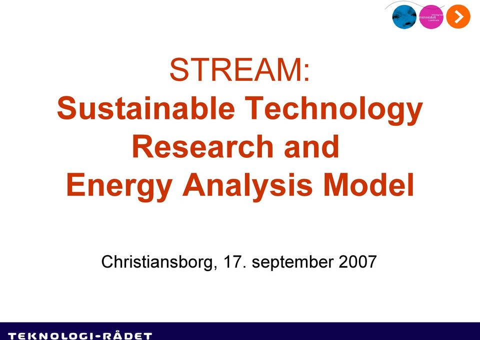 Energy Analysis Model