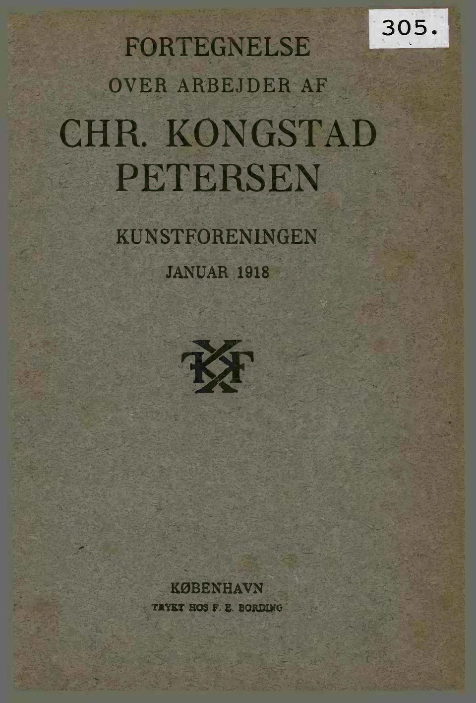 KONGSTAD PETERSEN