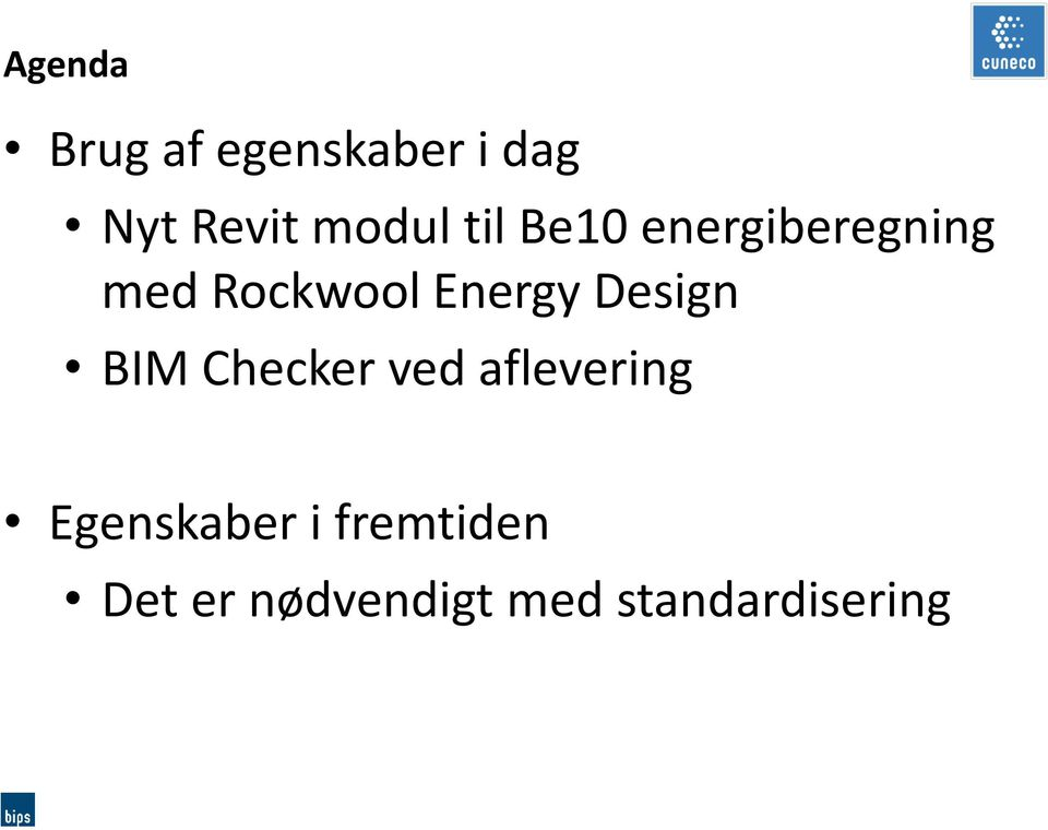 Energy Design BIM Checker ved aflevering