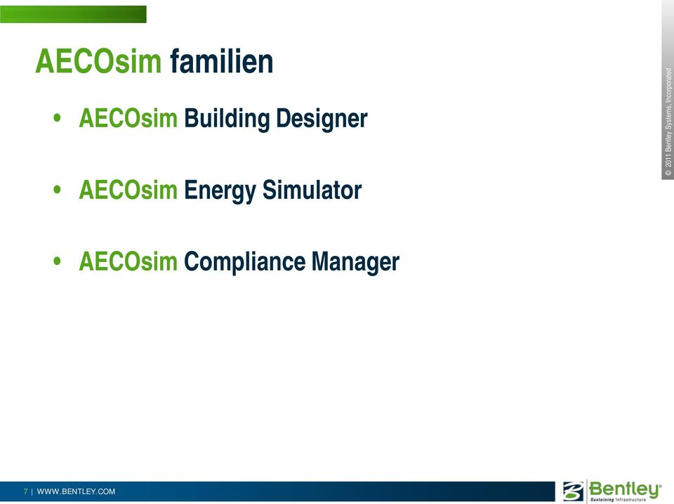 Energy Simulator AECOsim