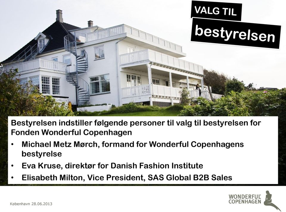 Copenhagens bestyrelse Eva Kruse, direktør for Danish Fashion Institute