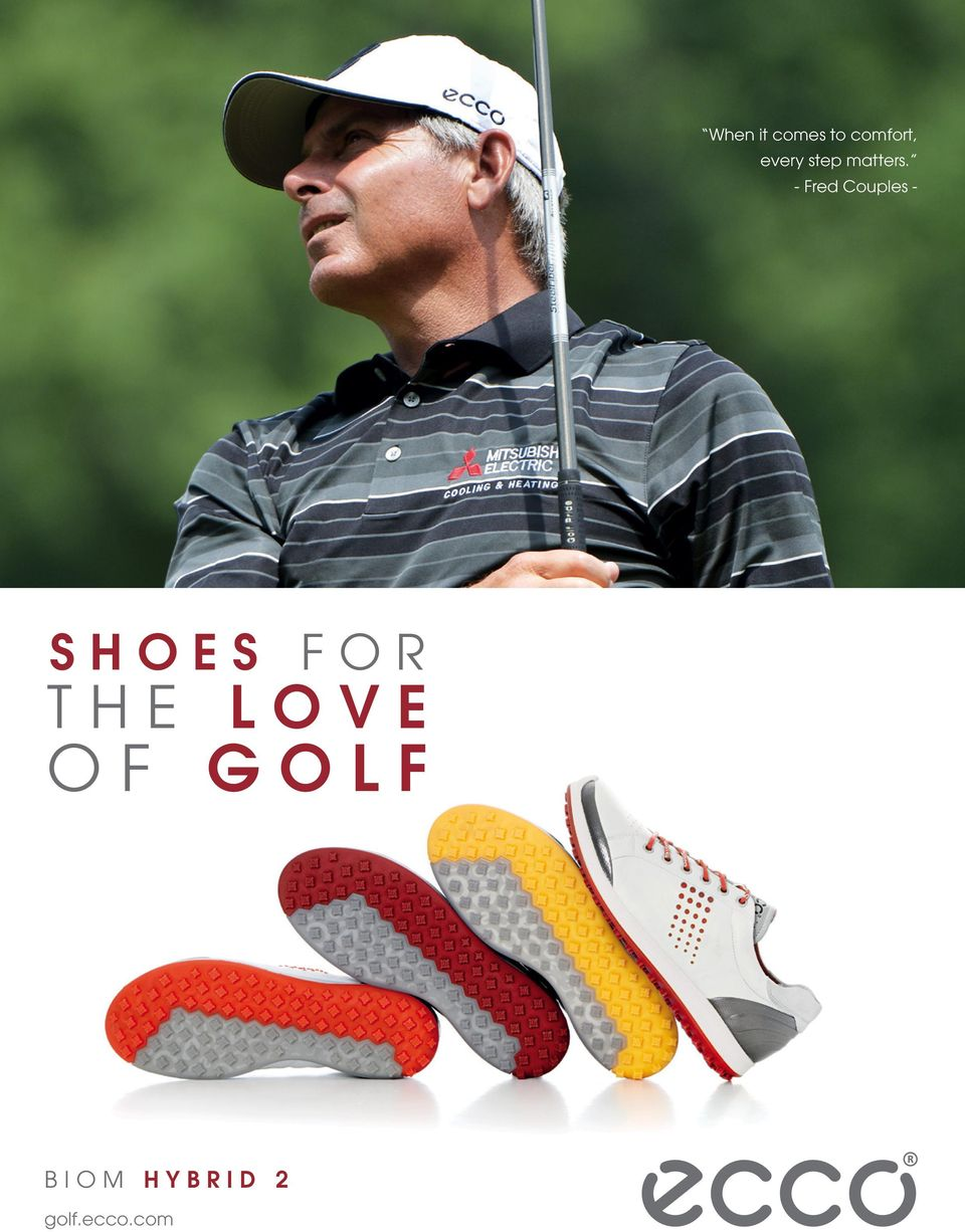 - Fred Couples - SHOES FOR