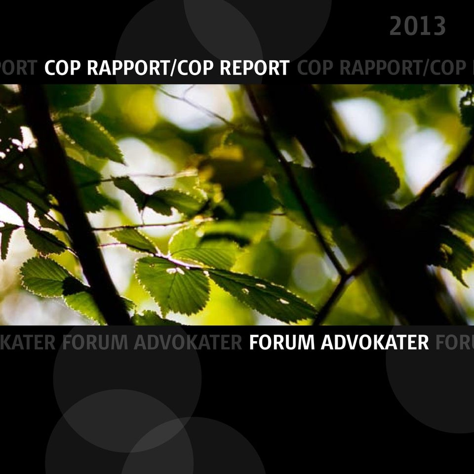 RAPPORT/COP R ATER